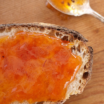 Saffron-peach