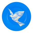 102283_A4_Plate_Magritte_Blue_Dove
