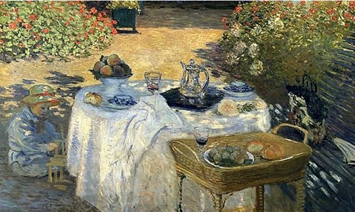 From The Luncheon, 1873